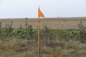 Lőszermentesítendő terület geodéziai kitűzése +