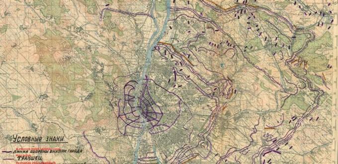 """Aknazár – Megvan az """"Attila"""" vonal korabeli térképvázlata"""