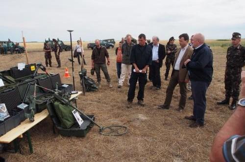 Különleges Biztonsági Szolgáltató és Tanácsadó Kft.  Lőszermentesítési munkálataink során alkalmazott technikai eszközök bemutatója.