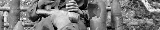 I. világháborús fényképek 1914. júl. 28. – 1918. nov. 11. Katonák, lőszerek, aknák, aknavetők, tüzérség