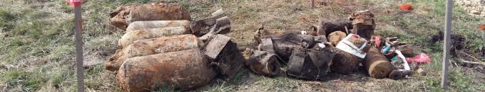 Tűzszerészeti átvizsgálás – Az egykori bombázó lőtér tájrehabilitációja