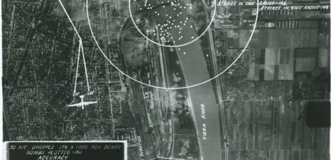 A szegedi Tisza-híd bombázása