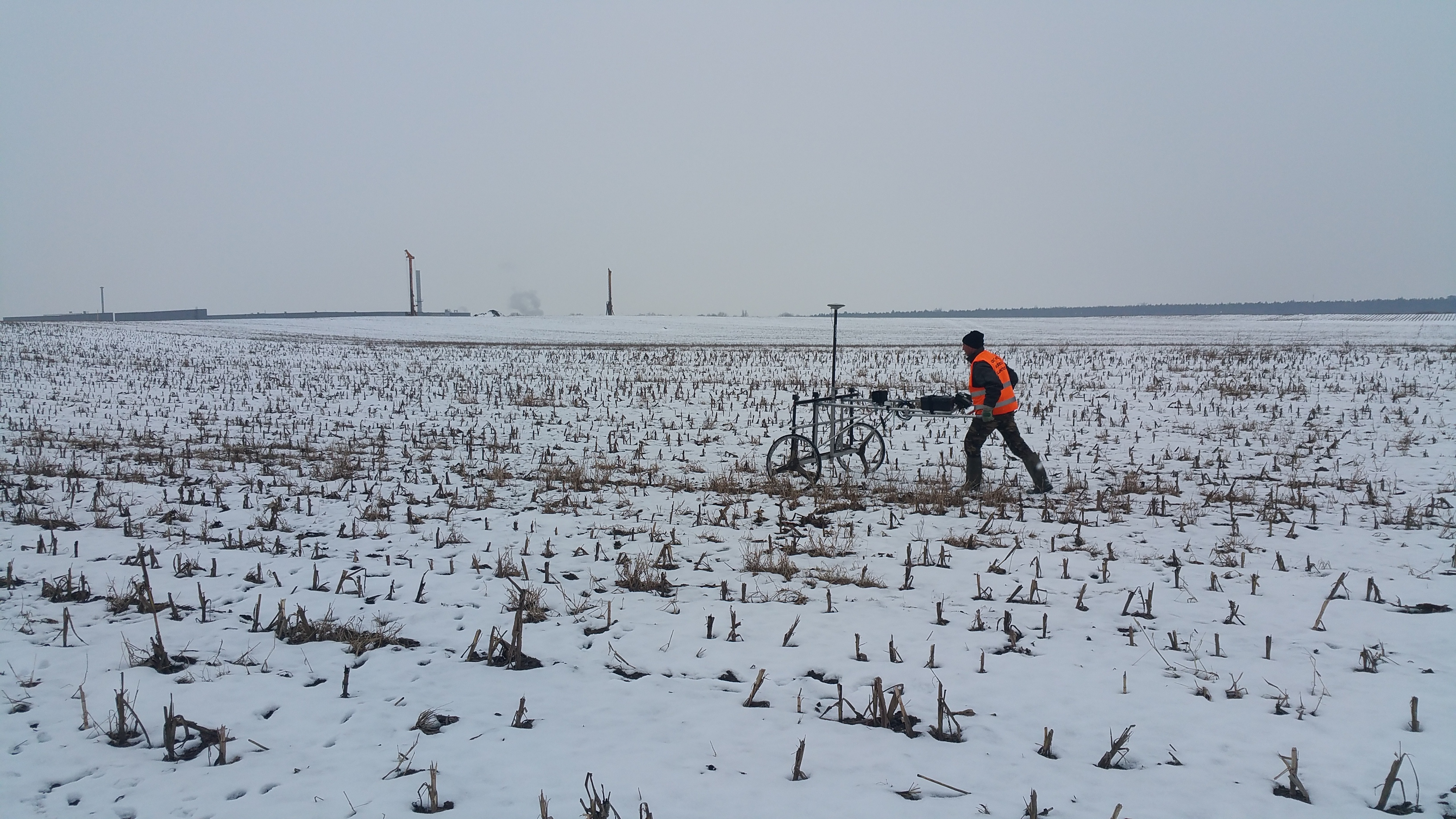 Régészeti kutatóárkok lőszermentesítése